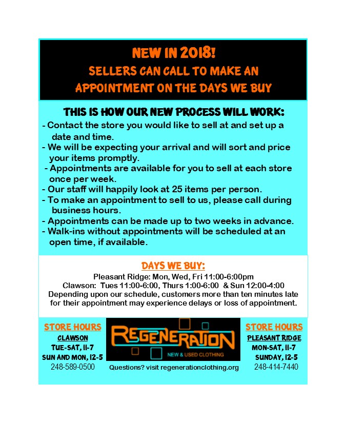 7728ffe634 Where Can I Sell My Used Clothes  Buying Guidelines - Regeneration